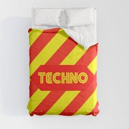 Techno music design for Techno lovers and TECHNO DJS Comforters