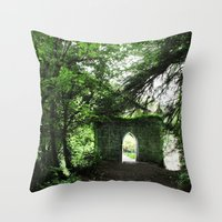 ruben ireland Throw Pillows featuring Ireland by ericasterling