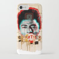 godfather iPhone & iPod Cases featuring Godfather by Marko Köppe