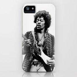 JimiHendrix iPhone Case