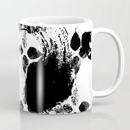 Black and white leaves Coffee Mug