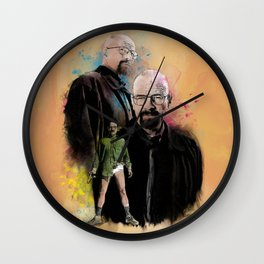 The one who knocks inspired by Breaking Bad Wall Clock