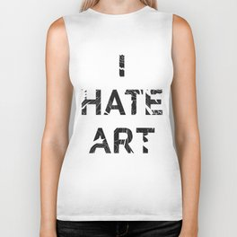 I HATE ART / PAINT Biker Tank