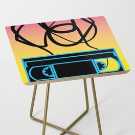 80's problems: VHS Side Table