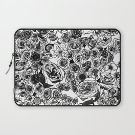 PHOENIX AND THE FLOWER GIRL FLOWERS PRINT Laptop Sleeve