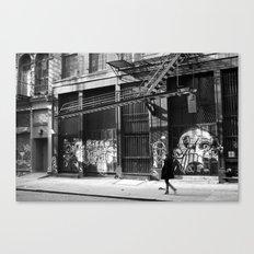 Crosby Street SoHo Canvas Print