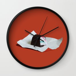 Chocolat  à recracher Wall Clock