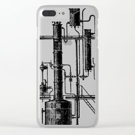 Brockhaus-Efron Distillery 6 Clear iPhone Case