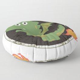 Farting Dragon Floor Pillow