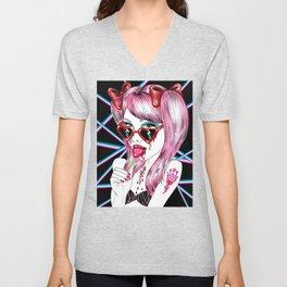 Laser Lolita Unisex V-Neck
