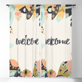 Welcome Blackout Curtain