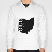 ohio state Hoodies featuring Ohio by Isabel Moreno-Garcia