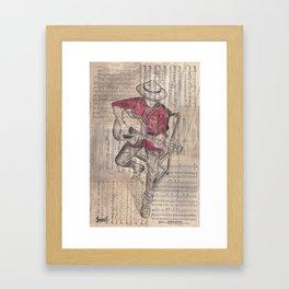 Serenade Framed Art Print