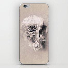 Decay Skull Light iPhone Skin