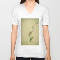 pastel V-neck T-shirts featuring pastel by Bonnie Jakobsen-Martin