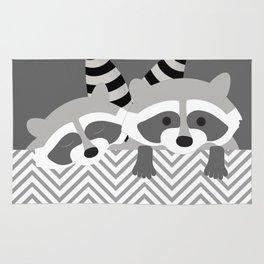 Raccoons Rug