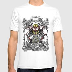 Battle Angels Mens Fitted Tee White MEDIUM