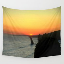 Sunsetting over the Great Southern Ocean Wall Tapestry