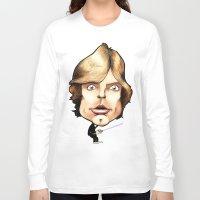 luke hemmings Long Sleeve T-shirts featuring Luke Skywalker by Mr Shins