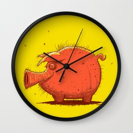 I'm Cute! Wall Clock
