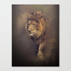 King of The Pride Canvas Print