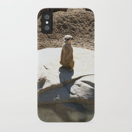 Just a meer kat... iPhone Case