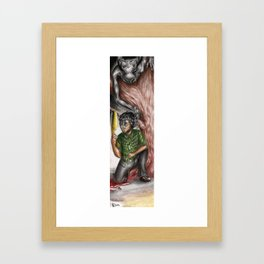 Hannibal - In search of the beast Framed Art Print