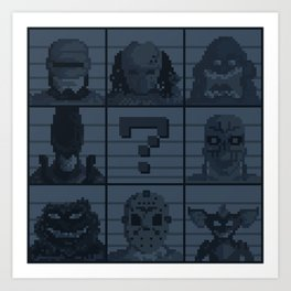 Select your character Art Print
