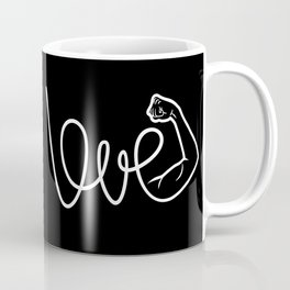Love Is The Power (white version) Coffee Mug