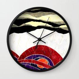 Orage - Storm Wall Clock