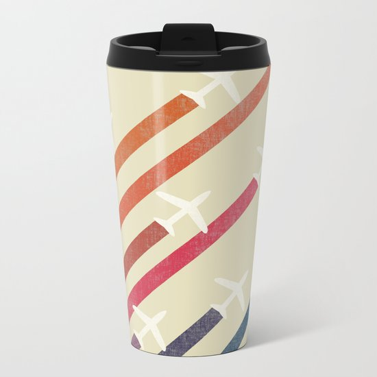 Aerial display (ver.2) Metal Travel Mug