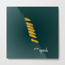 Golden epoch Metal Print