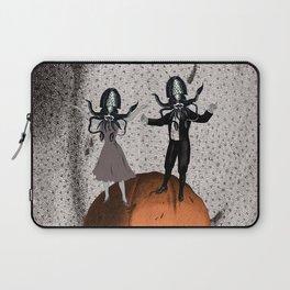 Orange Alien Nation Laptop Sleeve