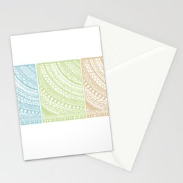 Weaved Elements I Stationery Cards