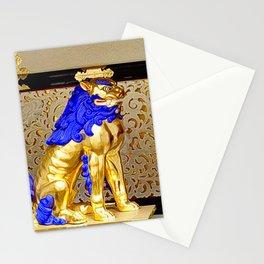 Gorudenraion, golden lion Stationery Cards
