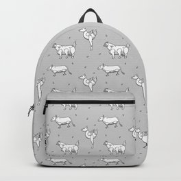 Mutants animals pattern Backpack