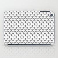hexagon iPad Cases featuring Design Hexagon by ArtSchool