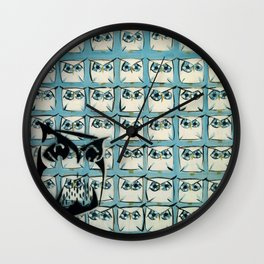 Sea of owls Wall Clock