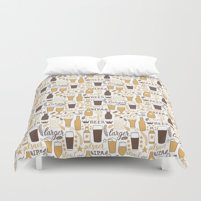 For beer lovers Duvet Cover
