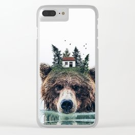 House Guardian Clear iPhone Case