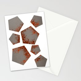 Pentagons of May 7 Stationery Cards