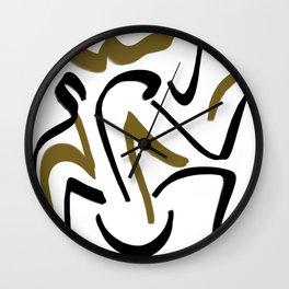 Bloan Mock Wall Clock