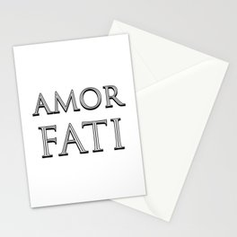AMOR FATI - Stoicism Stationery Cards