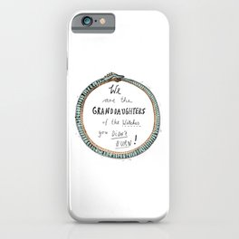 Ouroboros of the Witches iPhone Case