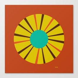 Spirogyro_InProgress(VV)(print) Canvas Print