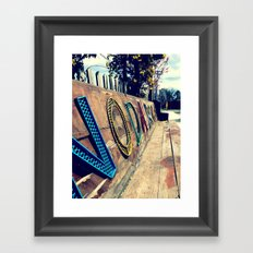 Art District Framed Art Print