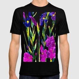black iris T-shirt