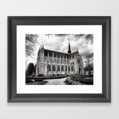 Église Notre-Dame du Sablon Framed Art Print