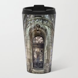 The Antique Building - Old Montreal Architecture 1 Travel Mug