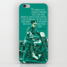 T.E. Lawrence on his Brough Superior iPhone & iPod Skin